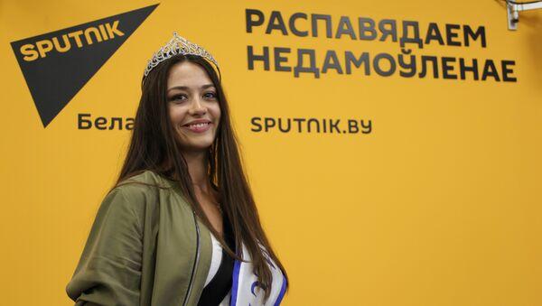 Міс Беларусь - 2016 Паліна Барадачова у агенцтве Sputnik - Sputnik Беларусь