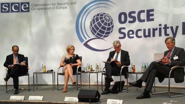 Замминистра иностранных дел Беларуси Купчина на международной конференции Дни безопасности ОБСЕ в Берлине - Sputnik Беларусь