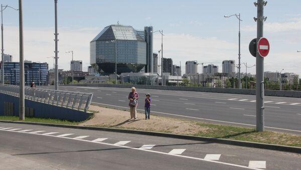Развязка пересечении улицы Филимонова и проспекта Независимости - Sputnik Беларусь