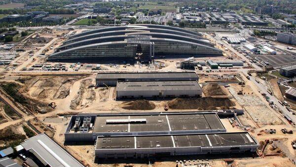 Строительство новой штаб-квартиры НАТО - Sputnik Беларусь