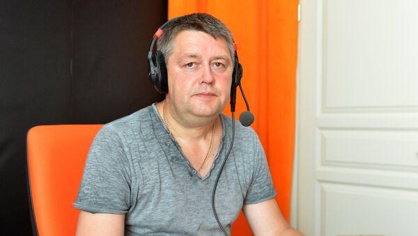 Политолог Сергей Палагин в студии радио Sputnik Беларусь - Sputnik Беларусь
