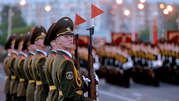 Рэпетыцыя параду, архіўнае фота - Sputnik Беларусь