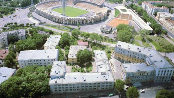 Стадион Динамо в Минске - Sputnik Беларусь