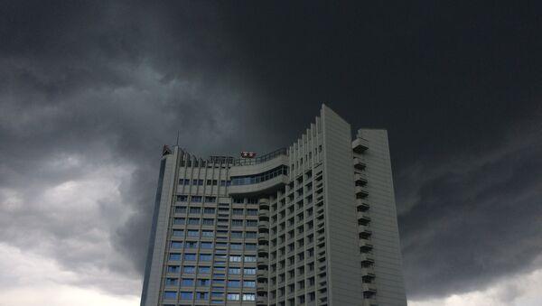 Хмара над Мінскам - Sputnik Беларусь