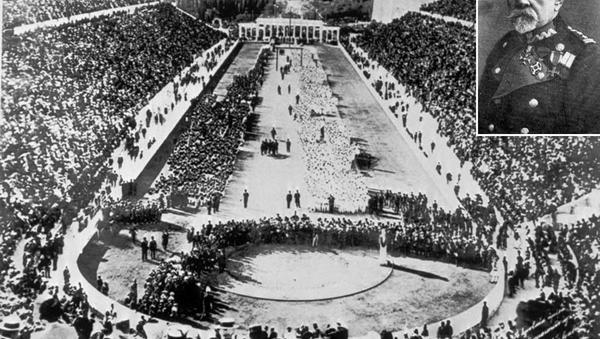 Зигмунд Минейко и Мраморный стадион первых Олимпийских игр Панатинаикос - Sputnik Беларусь