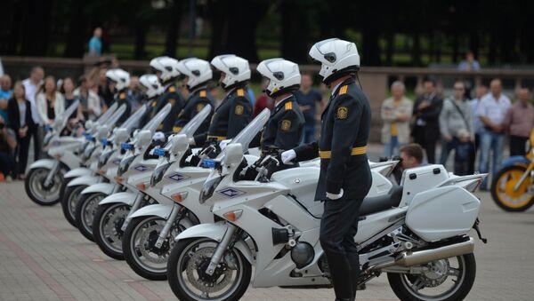 Специальное подразделение дорожно-патрульной службы Стрела - Sputnik Беларусь