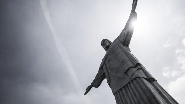 Статуя Христа в Рио-де-Жанейро - Sputnik Беларусь