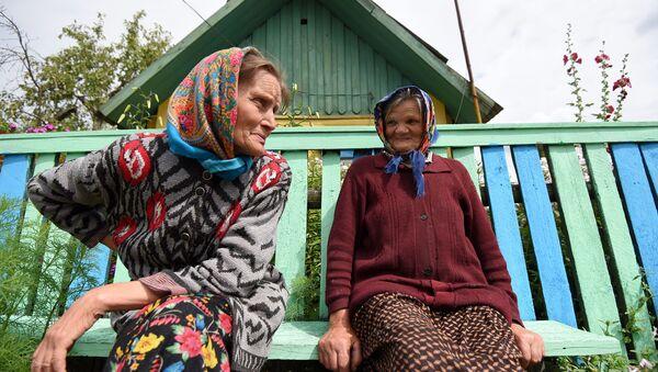 Пенсионерки в белорусской деревне - Sputnik Беларусь