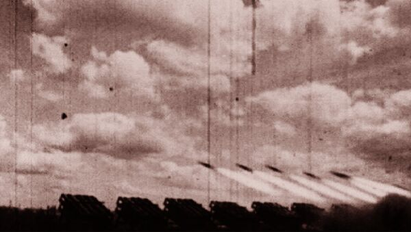 Спутник_Катюша - самая сакрэтная зброя Чырвонай Арміі. Архіўныя кадры - Sputnik Беларусь