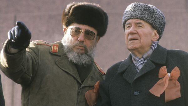 Андрей Андреевич Громыко и Фидель Кастро - Sputnik Беларусь