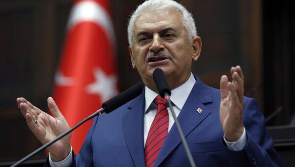 Премьер-министр Турции Бинали Йылдырым, архивное фото - Sputnik Беларусь