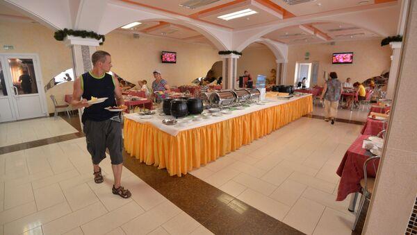Швецкі стол у санаторыі Беларусачка - Sputnik Беларусь