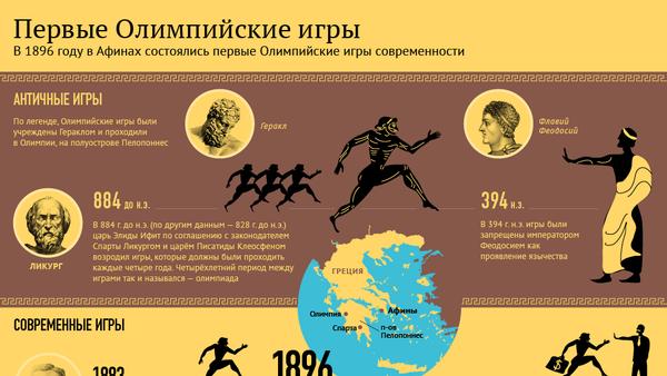 Первые олимпийские игры - Sputnik Беларусь