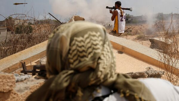 Вооруженные действия в Ливии - Sputnik Беларусь