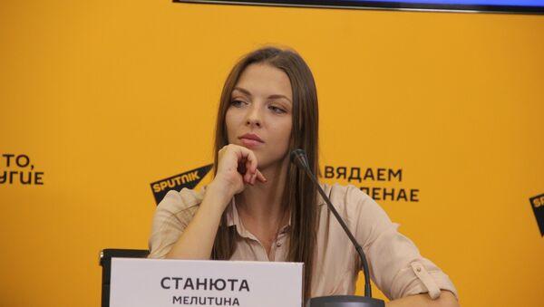 Спортсменка Мелитина Станюта - Sputnik Беларусь