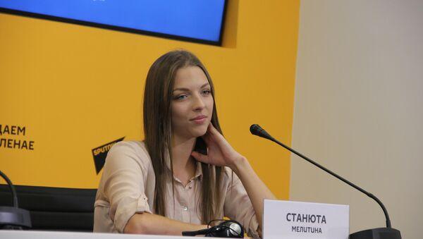 Беларуская гімнастка Меліціна Станюта - Sputnik Беларусь