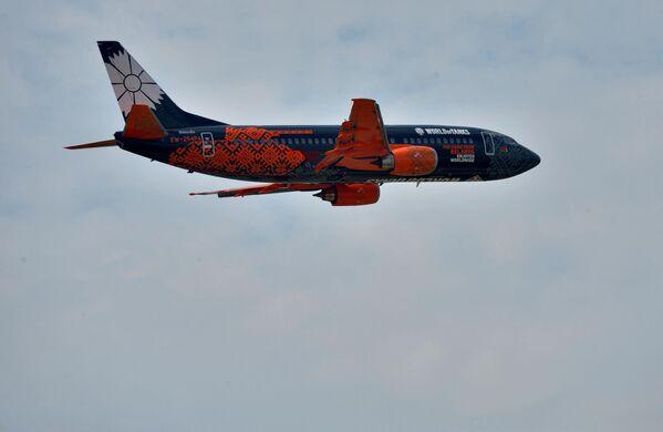 Боинг белорусской авиакомпании Белавиа - Sputnik Беларусь