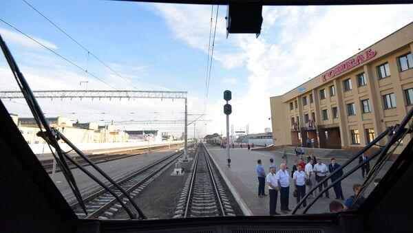 Гомельский вокзал - Sputnik Беларусь