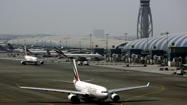 Міжнародны аэрапорт у Дубаі - Sputnik Беларусь