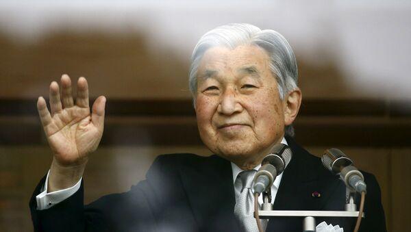 Японский император Акихито в день своего 82-летия в Токио - Sputnik Беларусь