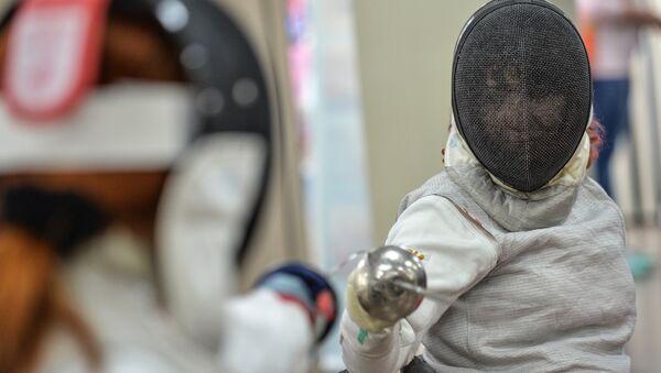 Член сборной России по фехтованию на колясках Ксения Овсянникова - Sputnik Беларусь