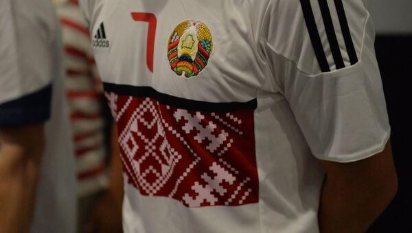 Новая форма национальной сборной Беларуси по футболу - Sputnik Беларусь