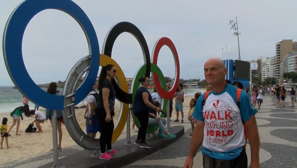 Спутник_Пешком через два континента: как россиянин добрался до Рио за 469 дней - Sputnik Беларусь