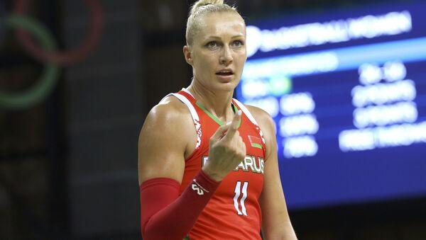 Белорусская баскетболистка Елена Левченко - Sputnik Беларусь