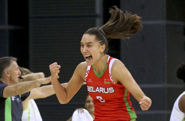 Белорусская баскетболистка Татьяна Лихтарович - Sputnik Беларусь