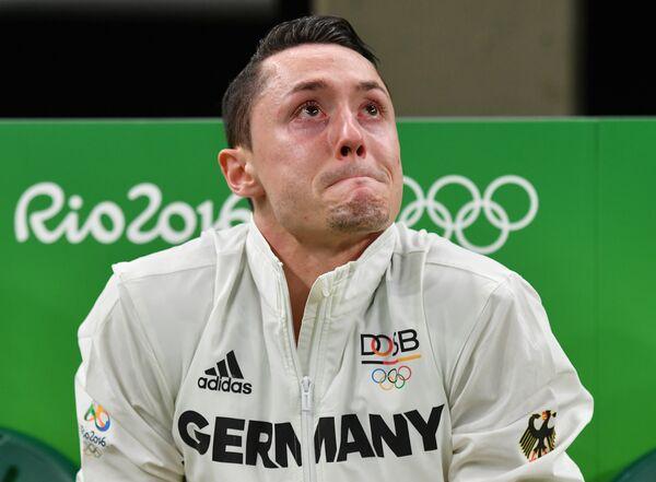 Гимнаст из Германии Андреас Тоба на квалификации соревнований по многоборью - Sputnik Беларусь