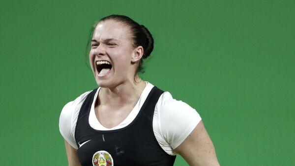 Дарья Наумова получила серебряную медаль Олимпиады-2016 - Sputnik Беларусь