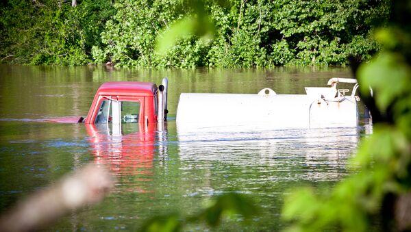 Последствия наводнения, архивное фото - Sputnik Беларусь