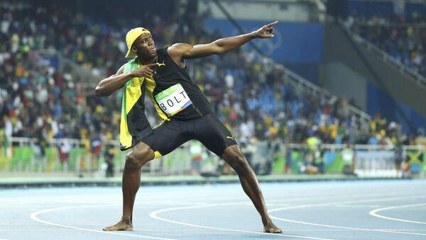Cемикратный олимпийский чемпион ямайский спринтер Усэйн Болт - Sputnik Беларусь