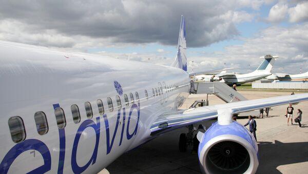 Boeing авіякампаніі Белавія, архіўнае фота - Sputnik Беларусь