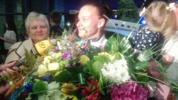Серебряный призер Олимпиады-2016 Дарья Наумова - Sputnik Беларусь