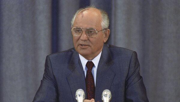 Президент СССР Михаил Сергеевич Горбачев - Sputnik Беларусь