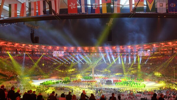 Церемония закрытия XXXI летних Олимпийских игр в Рио-де-Жанейро - Sputnik Беларусь