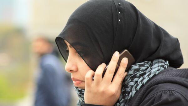 Девушка в хиджабе, архивное фото - Sputnik Беларусь