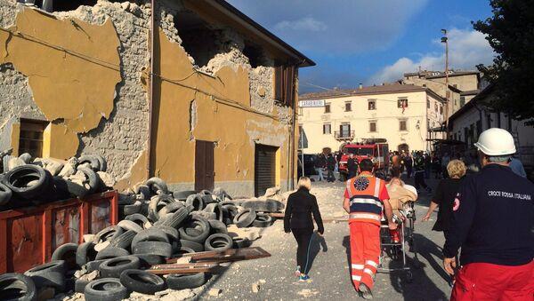 Наступствы землятрусу ў Італіі - Sputnik Беларусь