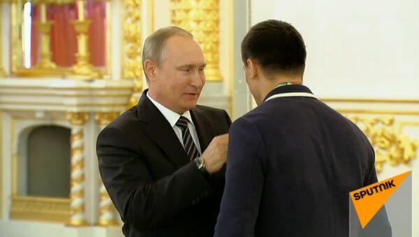 Награждение призеров Олимпийских игр-2016 - Sputnik Беларусь