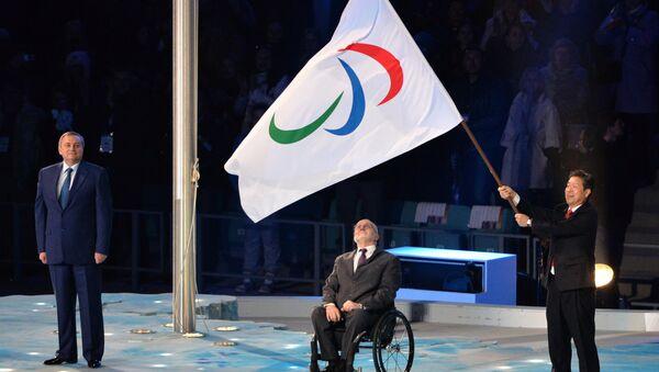 Церемония закрытия XI зимних Паралимпийских игр - Sputnik Беларусь