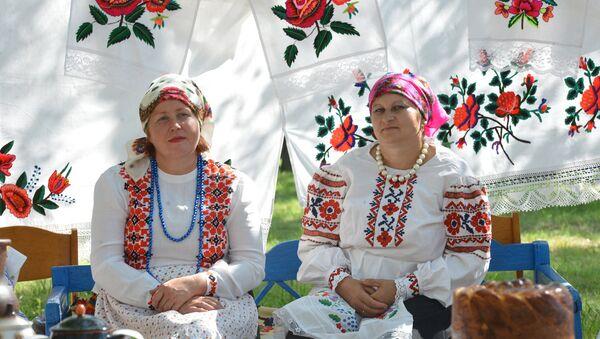 Беларускі народны строй, архіўн - Sputnik Беларусь