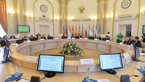 Заседание Исполкома СНГ в Минске - Sputnik Беларусь