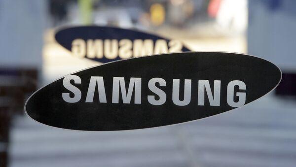 Логотип компании Samsung - Sputnik Беларусь