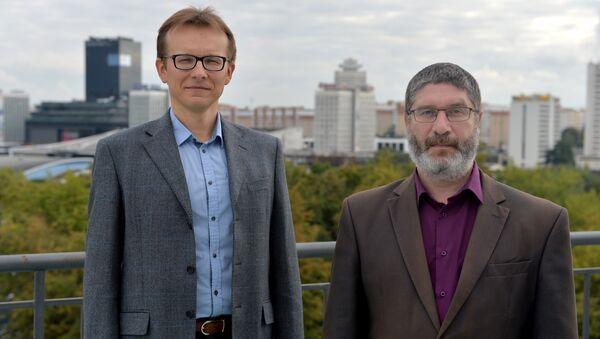 Вадзім Іосуб і Вячаслаў Ярашэвіч - Sputnik Беларусь