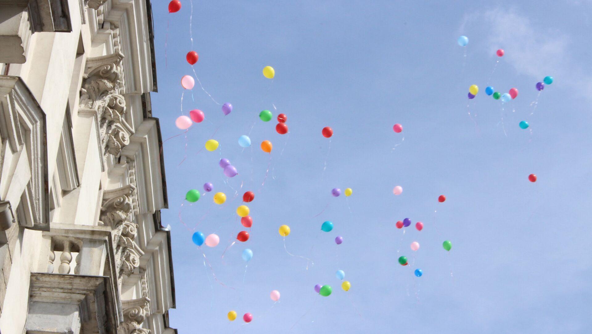 На открытии запустили воздушные шары - Sputnik Беларусь, 1920, 28.05.2021