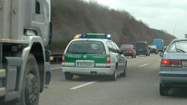 Автомобиль немецкой полиции  - Sputnik Беларусь