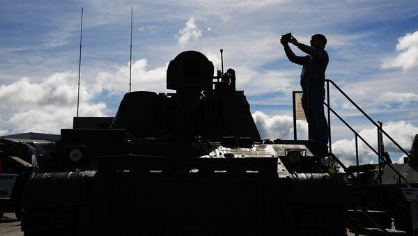 Открытие Международного военно-технического форума АРМИЯ-2016 - Sputnik Беларусь