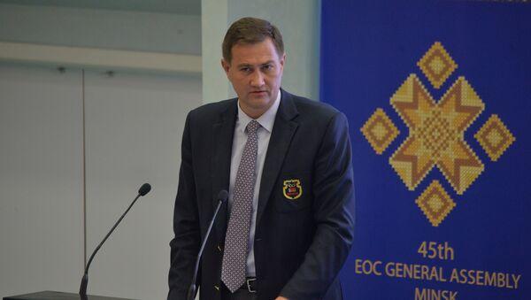 Первый вице-президент НОК Максим Рыженков - Sputnik Беларусь