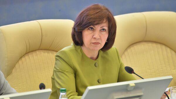 Наталья Кочанова на совместной коллегии НОК и Минспорта. - Sputnik Беларусь